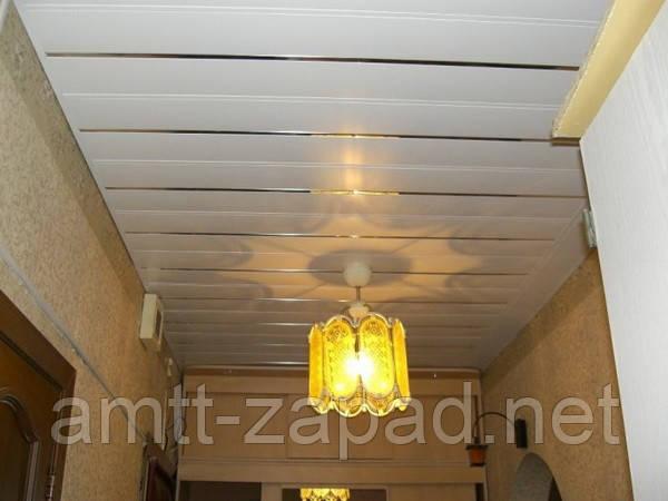 Алюминиевый реечный потолок Герца