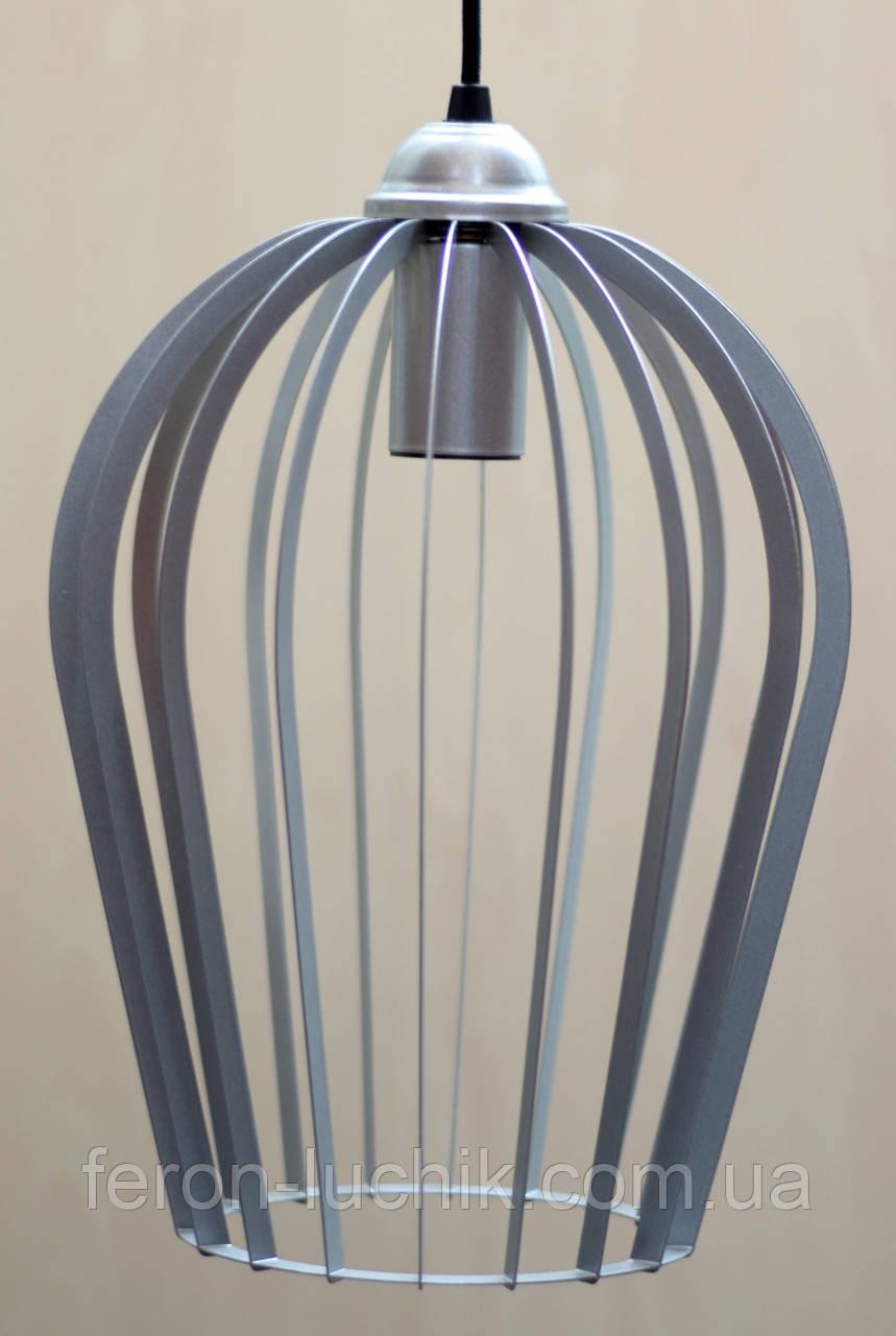 Лофт світильник підвісний Е27 Келих стельовий, різні кольори: чорний графіт, сірий, золото