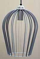Лофт светильник подвесной Бокал Е27 разные цвета: черный графит, серый, золото