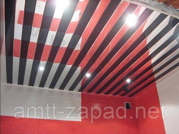 Алюминиевый реечный потолок Пидволочиськ
