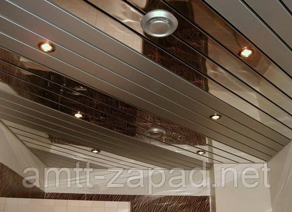 Алюминиевый реечный потолок Фастов