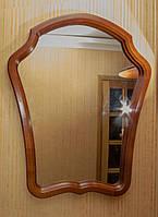 """Зеркало для прихожей """"Модерн"""". Мебель для прихожей из дерева."""