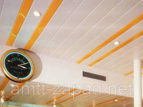 Алюминиевый реечный потолок Ирпень