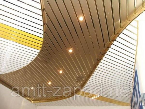 Алюминиевый реечный потолок Бровары