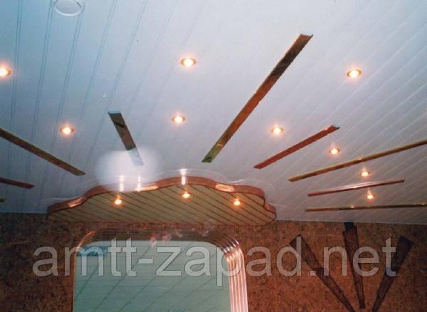 Алюминиевый реечный потолок Полтава