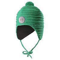 Шапка зимняя для малышей, подкладка флис Reima Kumpu 46* (518437-8860)