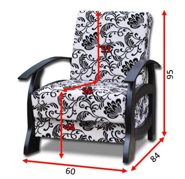Кресло Доминик А (фото 2)