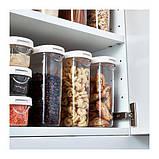 ІКЕА ІКЕА/365+ Контейнер + кришка для сухих продуктів, 1.3 л, фото 4