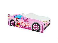 Кровать машина Minnie mouse Детская кровать машина Минни Маус Серия Evolution