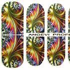 Наклейки для Ногтей Ноготки PhotonailArt Водные Angevi SL 74 Абстракция Разноцветная, фото 3
