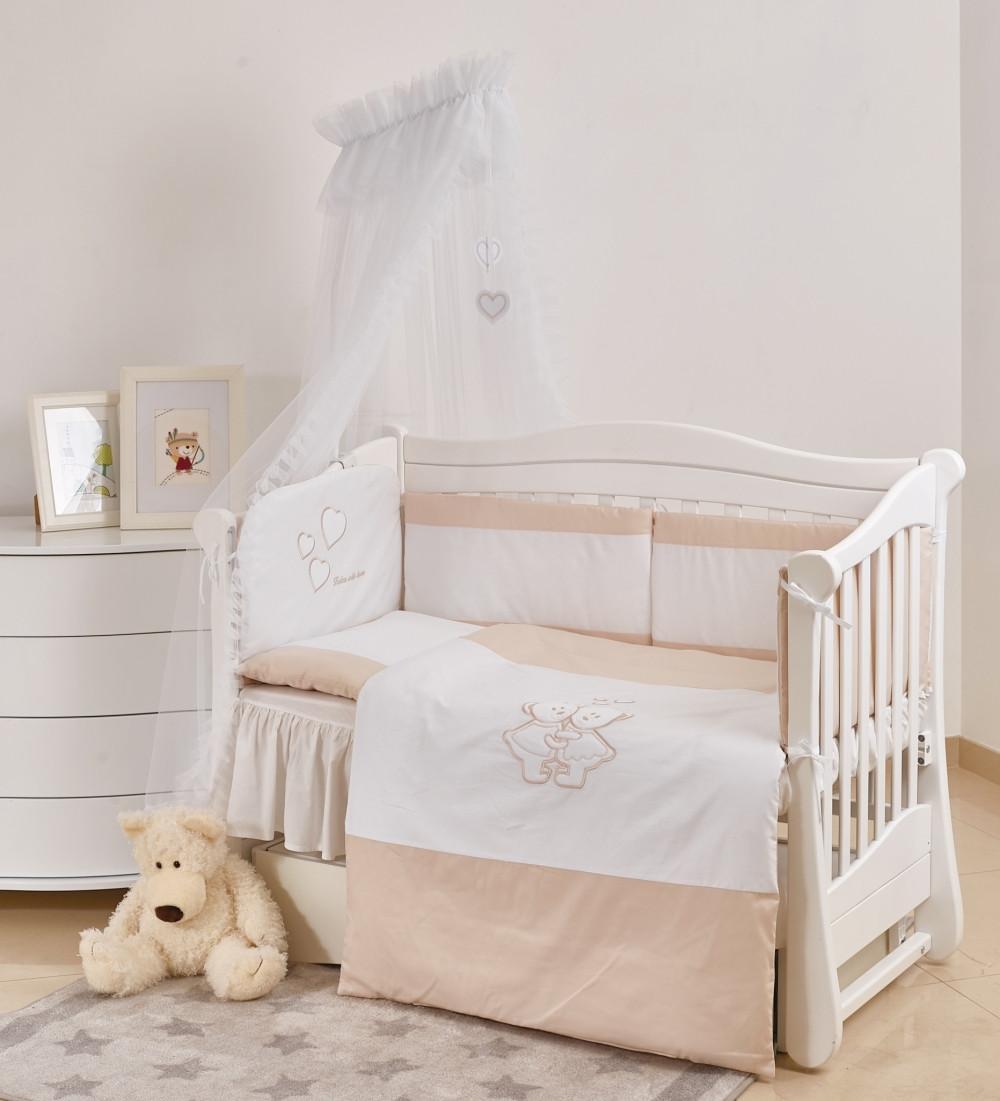 Детское постельное белье Twins Evo I love А-038 7 эл