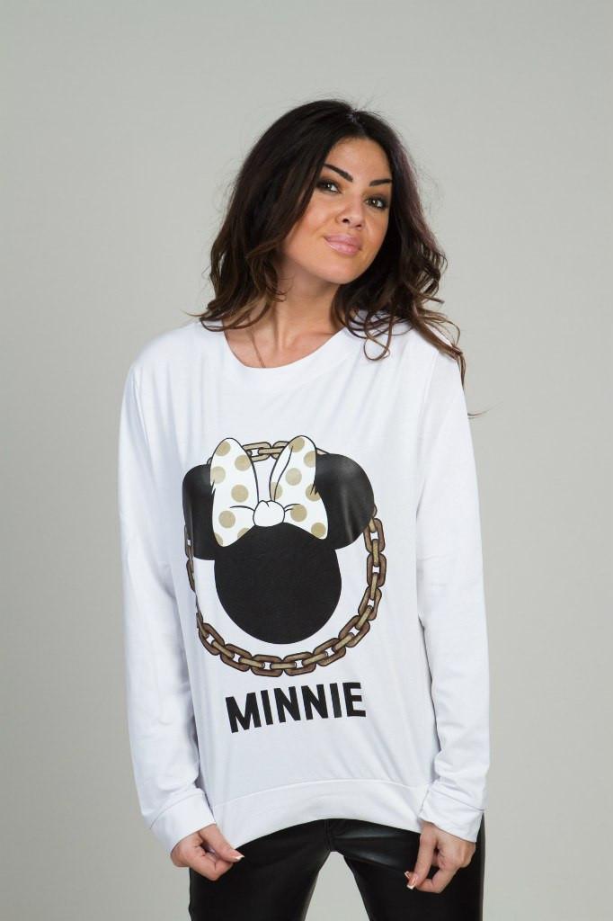 Женская кофта свободная  Мини Микки