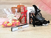 """Подарочный набор для девушки """"Je t'aime"""" с любовной телеграммой"""