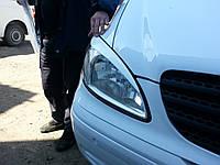 """Реснички """"Porsche-style"""" Mercedes Vito W639 (стекловолокно)"""