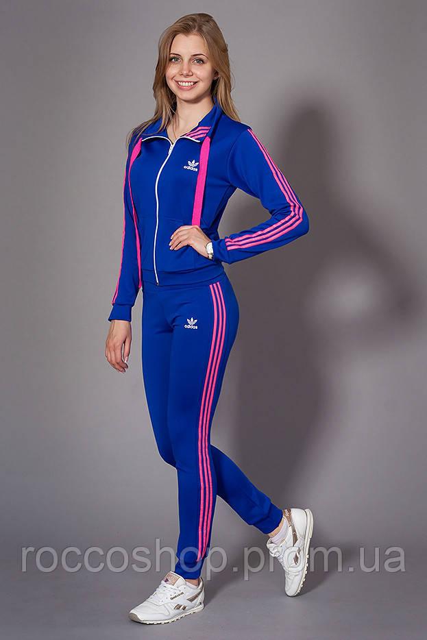 c809a63ae0d Женский молодежный спортивный костюм. Код модели КС-13. Цвет электрик с  розовым.