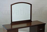 """Зеркало """"Дуга"""". Мебель для прихожей из дерева."""