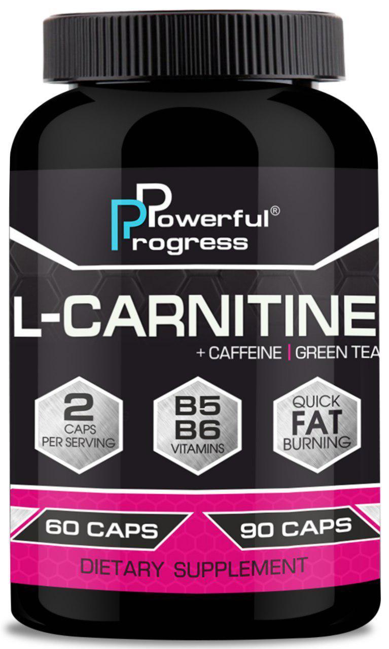 Жиросжигатель Powerful Progress L-Carnitine 60caps