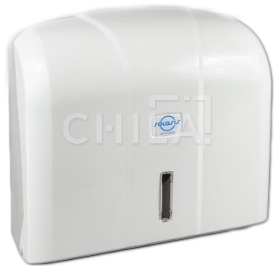 Диспенсер для бумажных полотенец на 400 листов (белый)