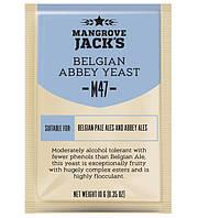 Дрожжи Mangrove Jack's Belgian Abbey M47