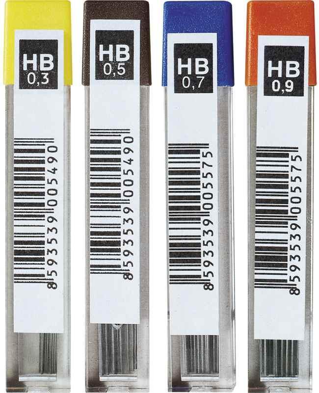 Стрижень до хутро.олівця 4152.НВ 0,5 мм