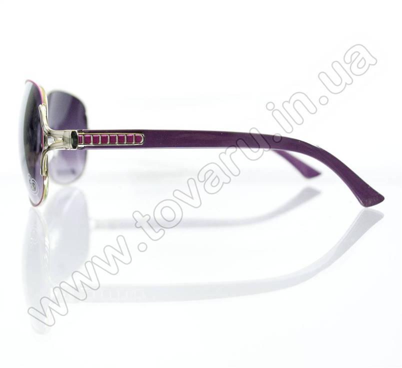 Оптом Очки женские солнцезащитные - Сиреневые - S3314, фото 2