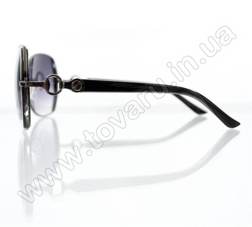 Очки женские солнцезащитные - Черные - S522, фото 2