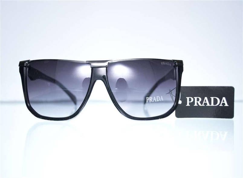 Очки мужские Prada солнцезащитные - Черные - SPS67N, фото 2