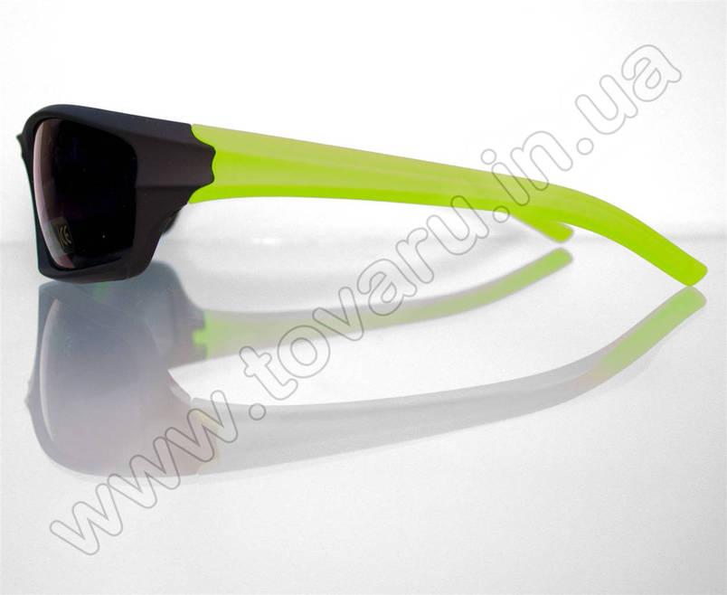 Окуляри чоловічі сонцезахисні спортивні - Чорно-салатові - T85, фото 2