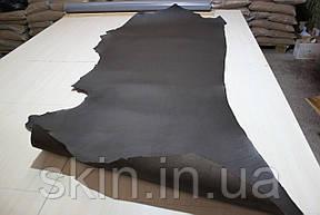 Кожа натуральная ременная коричневого цвета, толщина 3.6 мм, арт. СК 1688, фото 2