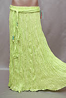 Юбка в пол длинная  Турция штапель жатка , фото 1