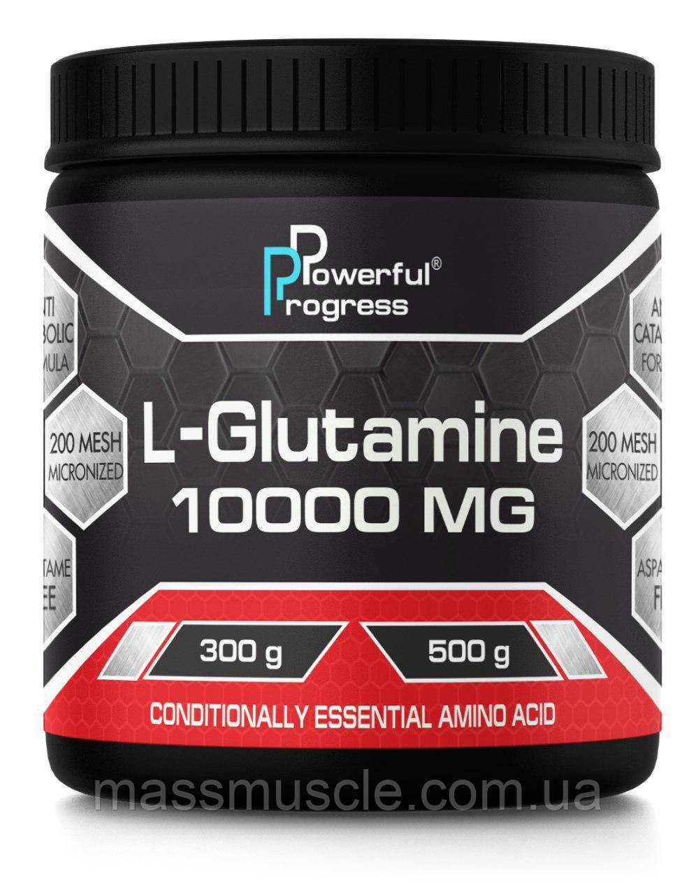 Глутамин Powerful Progress L-Glutamine 300g