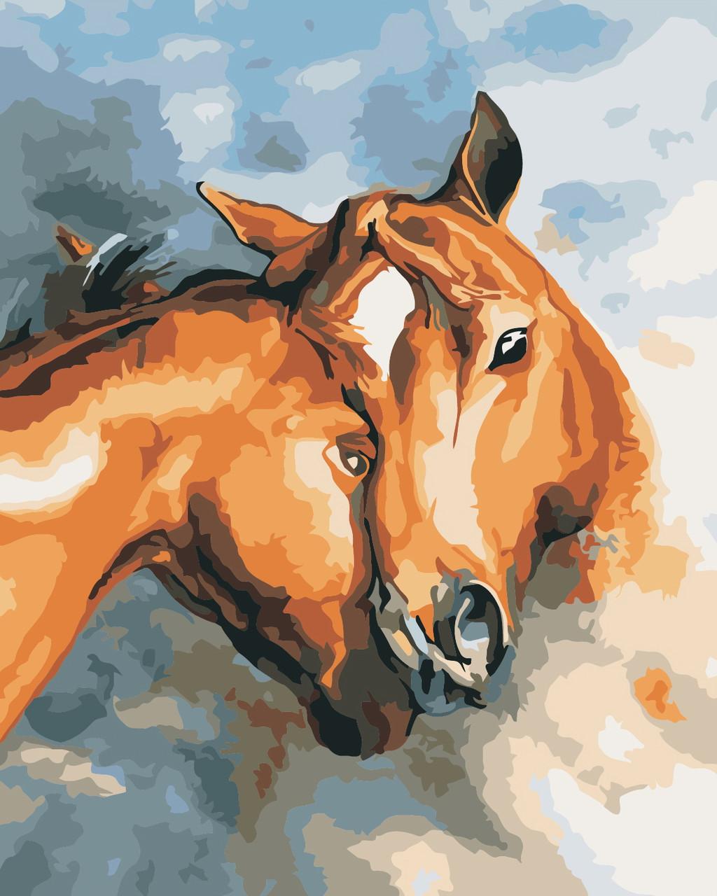 Художественный творческий набор, картина по номерам Искренность, 40x50 см, «Art Story» (AS0395)