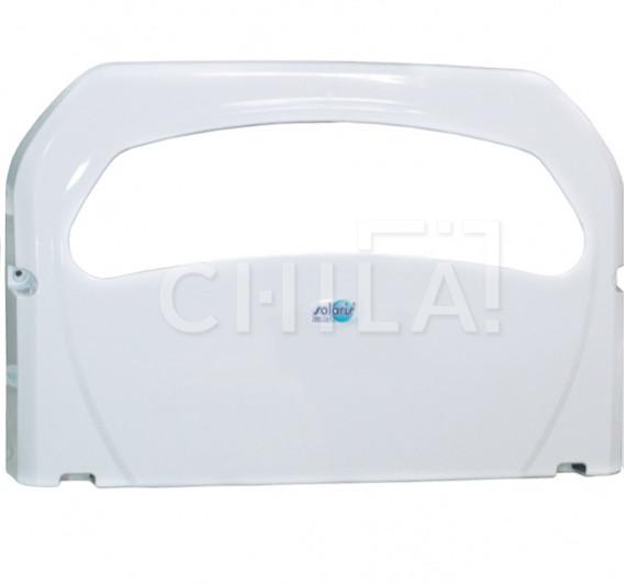 Диспенсер для гигиенических накладок на унитаз 1/2 складка белый 425х50х285 (200 шт)