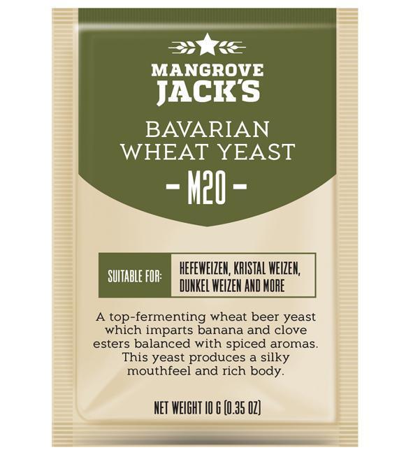 Дрожжи Mangrove Jacks Bavarian Wheat Yeast M20
