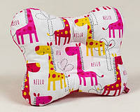 2cf3394ba78 Подушка ортопедическая для новорожденных бабочка Жирафики 22 х 26 см