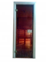 Дверь для сауны стеклянная 700х1900  СТАНДАРТ