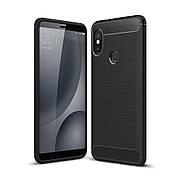 Чехол TPU на Xiaomi Mi Max 3 Черный