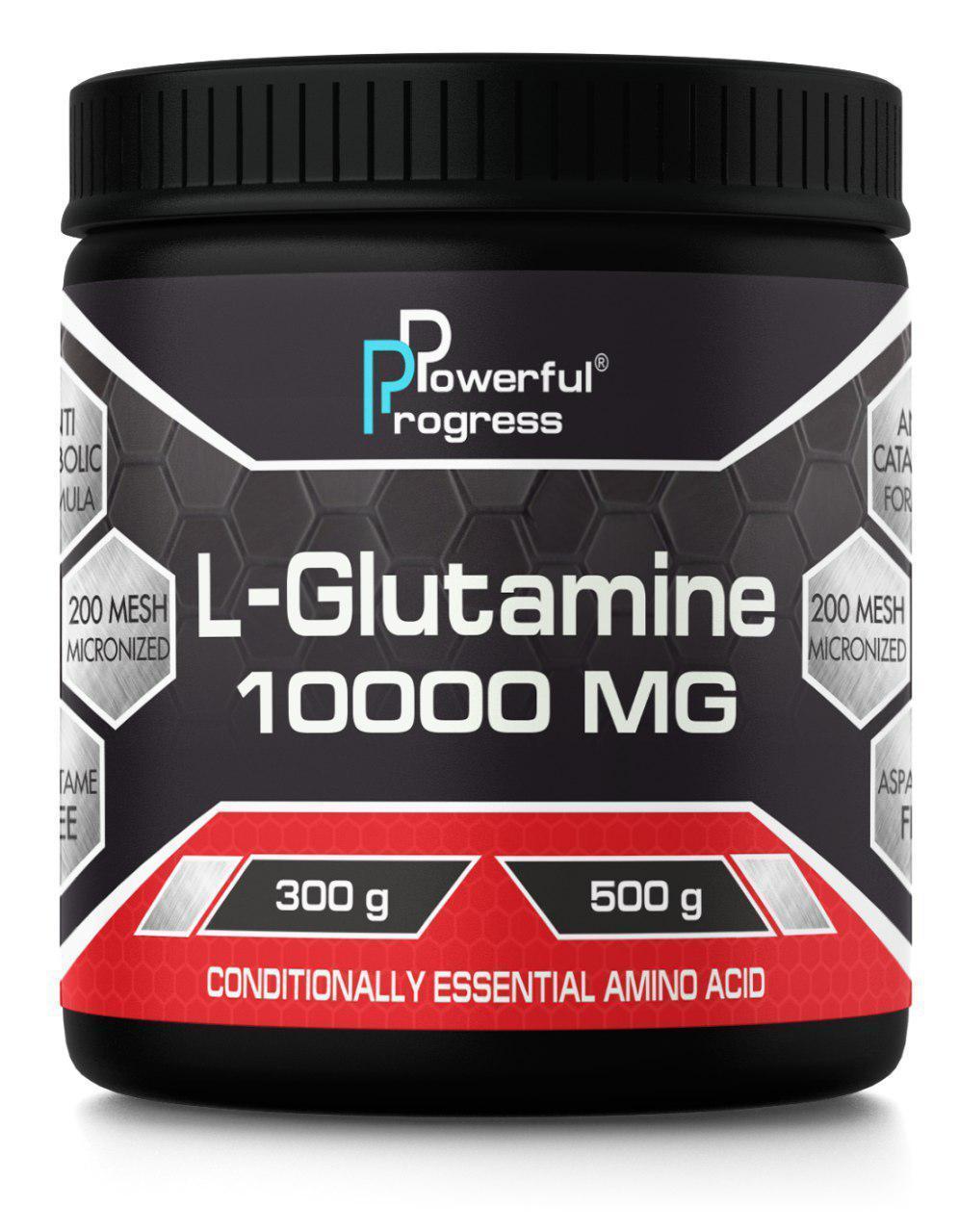 Глутамин Powerful Progress L-Glutamine 500g