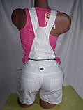 Шорты-комбинизон женский, бежевые, черные, фото 2