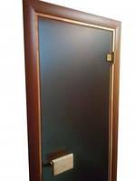 Стеклянные двери для саун 700х1900 матовые