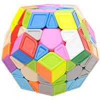 Универсальная игрушка QiYi QiHeng S Megaminx (sculpture) без наклеек – улучшенная модель кубика Рубика
