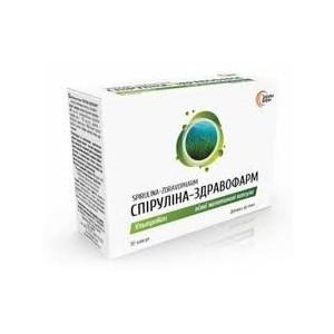 БАД Спирулина Ультра -  в состав спирулины входит более 2000минералив, витаминов(кап 30)