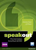 Speakout Pre-Intermediate Active Teach & DVD