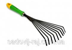 Грабли веерные Verano 390 мм 9 прутьев (71-869)
