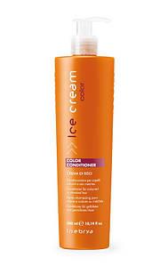 Кондиционер для окрашенных и мелированных волос Inebrya Ice Cream Color Conditioner Creme Caramel