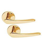 Ручка дверная ABLOY INTERIA 19/001 Лак золотистый(Финляндия), фото 1