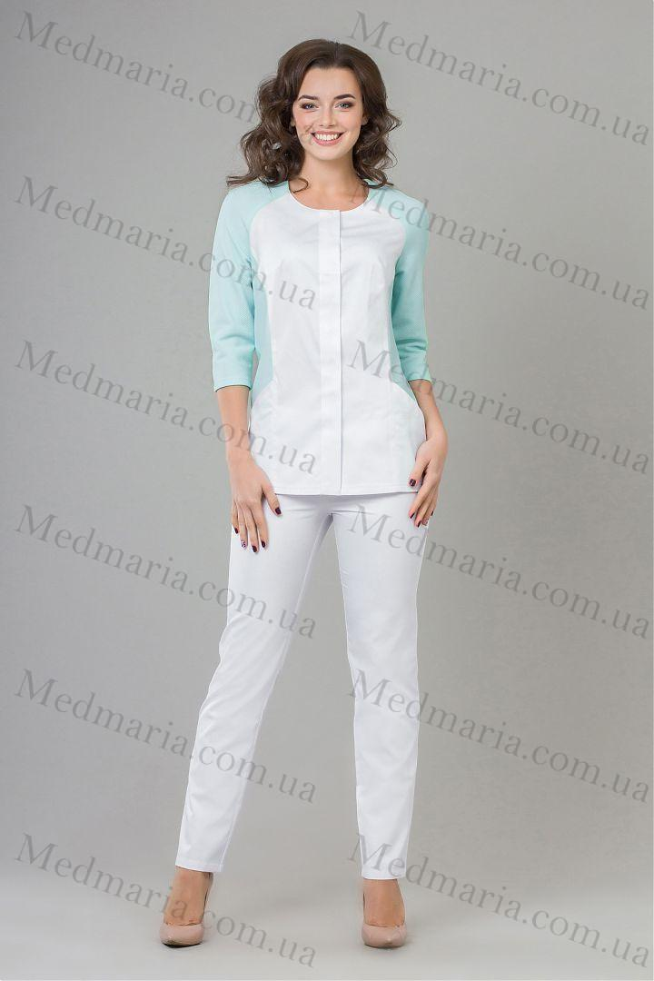 Жіночий медичний костюм Ельза - Інтернет-магазин медичного одягу