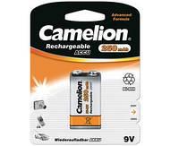 Аккумулятор Camelion 6F22 крона 9V 250 mAh Ni-Mh 1 bl