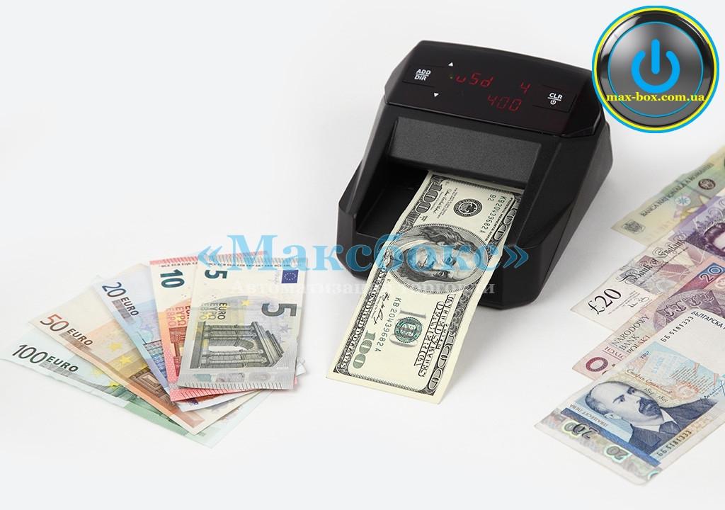 Детектор валют Moniron DEC multi 2 black