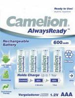 Акб CAMELION R 03/4bl 600 mAh Ni-MH (Always Ready)